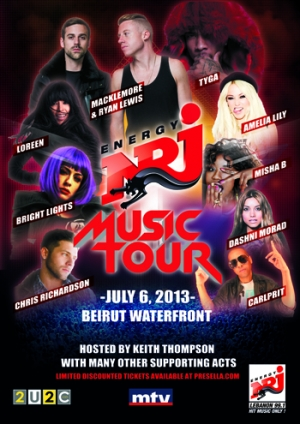 NRJ Music Tour 2013